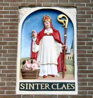 Nicolaasviering 6 december in de Oude Lutherse Kerk